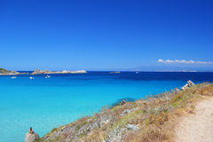 Sardegna, Italy, Costa Smeralda stock photography