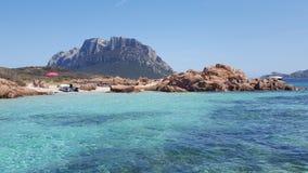 Sardegna - Oporto Sanpaolo immagini stock libere da diritti
