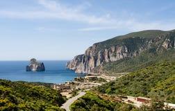 Sardegna, Pan di Zucchero cliff Stock Images