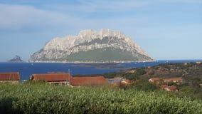 Sardegna - Tavolara immagini stock