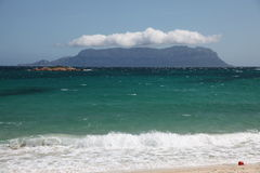 Sardegna Tavolara Island costa smeralda. Italy stock photo