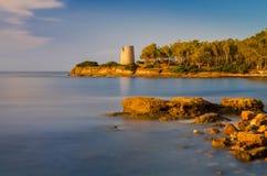 Sardegna Tower Stock Photo
