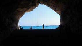 Sardegnacalla Luna Royalty-vrije Stock Foto