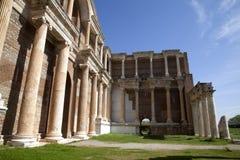 Sardes Ancient City. Manisa - Turkey. The Gymnasium of Sardes Ancient City. Manisa - Turkey Royalty Free Stock Images