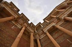 Sardes Manisa, Turkiet arkivfoto