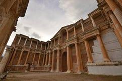 Sardes Manisa, Turkiet royaltyfria foton
