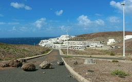 Sardina del Norte, mamie Canaria, Espagne Images libres de droits