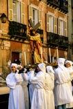 Sardina. Iglesias. Holy Week and Easter Royalty Free Stock Photos