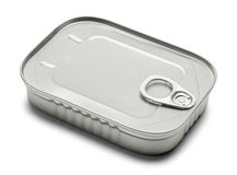 Sardine Can Royalty Free Stock Photos