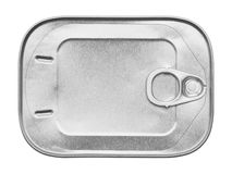 Sardine Can Top Stock Photography