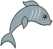A sardine grey Royalty Free Stock Images