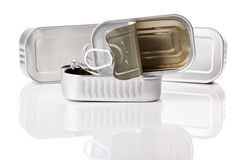 Sardine tin Royalty Free Stock Photography