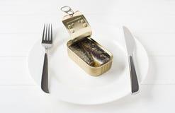 Sardines Royalty Free Stock Photography