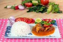 Sardines fish in tomato sauce Stock Photo