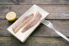 Sardines fumées Photographie stock libre de droits