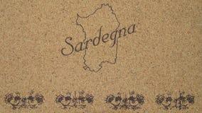 sardinia Royaltyfria Foton