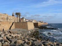 Sardinia. Alghero. Old Town Royalty Free Stock Photography