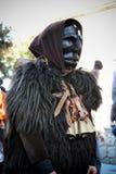 Sardinia. Ancestral mask. Ancestral mask typical of Sardinian Carnival Royalty Free Stock Photos