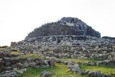 Sardinia. Arkeologisk plats Arkivfoton