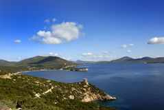Sardinia Bay. One of the many beautiful bays of Sardinia Royalty Free Stock Photography