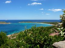 Sardinia - bay in San Teodoro Stock Photos