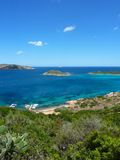 Sardinia - bay in San Teodoro Royalty Free Stock Photo
