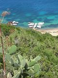 Sardinia - bay in San Teodoro Royalty Free Stock Images