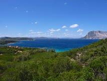 Sardinia - bay in San Teodoro Royalty Free Stock Image