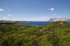 Sardinia - bay in San Teodoro Stock Image