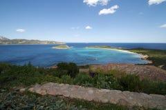 Sardinia - bay in San Teodoro Royalty Free Stock Photos