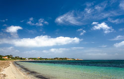 Sardinia, beach of Carloforte Stock Images