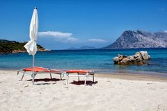 Sardinia beach Royalty Free Stock Images