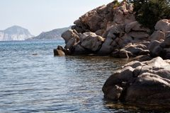 Sardinia beach Royalty Free Stock Images