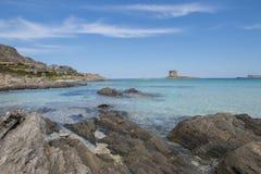 Sardinia beautifl coast Royalty Free Stock Image