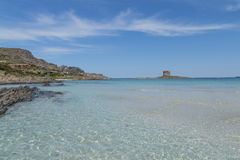 Sardinia beautifl coast Royalty Free Stock Images
