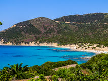 Amazing Italian beach  Stock Photography
