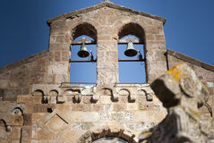 Sardinia. Bell-Gable Stock Photo