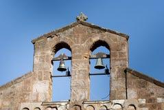 Sardinia.Bell-geveltop elementen Stock Foto