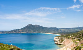 Sardinia, Buggerru beach Stock Photos