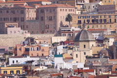 Sardinia Cagliari Arkivfoton