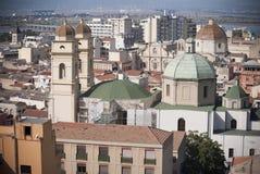Sardinia. Cagliari Arkivbilder