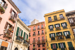 Sardinia, Cagliari city Royalty Free Stock Photos