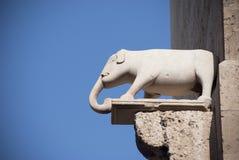 Sardinia.Cagliari-gränsmärke Arkivfoton