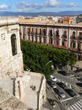 Sardinia. Cagliari Stock Image