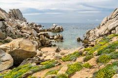 Sardinia, Cala Francesa Stock Image