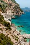 Sardinia Cala Goloritzè arkivbilder