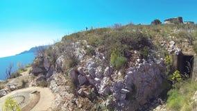 Sardinia cala moresca stock footage