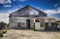 Sardinia cala moresca radio station of guglielmo marconi Royalty Free Stock Photos