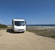 Sardinia camper Royalty Free Stock Photos
