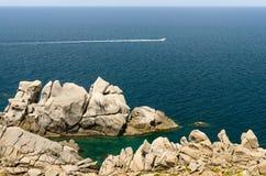 Sardinia, Capo Testa Stock Images